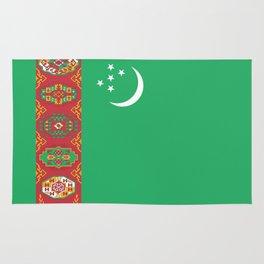 Turkmenistan Flag Rug