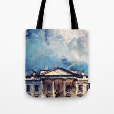 White House On A Sunny Day Tote Bag