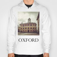 theater Hoodies featuring Oxford: Sheldonian Theater by Solar Designs