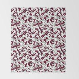 Winterberries Throw Blanket