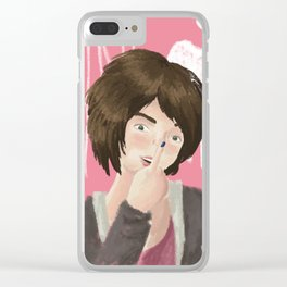 Jane Doe Clear iPhone Case