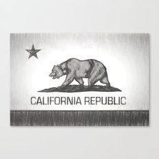 California Republic state flag Canvas Print