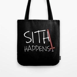 Sith happens Force Awakens edition- Dark Tote Bag