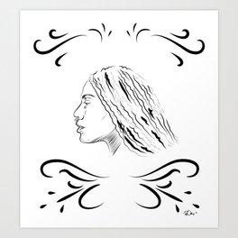 Qween 2 Art Print