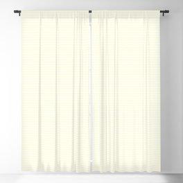 Large Horizontal Pastel Lemon Yellow Princess Elizabeth Regal Stripe Blackout Curtain
