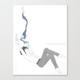 The Reichenbach Fall Canvas Print
