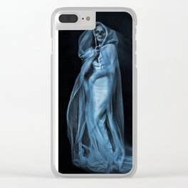 Death Becomes Her Clear iPhone Case