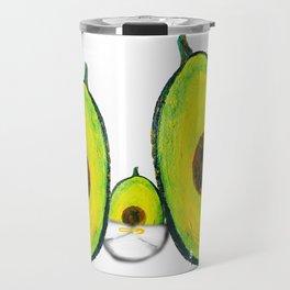 Baby Avocado we Love You Travel Mug
