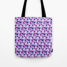 Twist of Shapes Tote Bag
