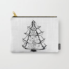 Christmas Tree Hugs Carry-All Pouch