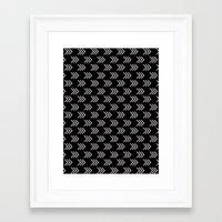arrows Framed Art Prints featuring Arrows by Priscila Peress