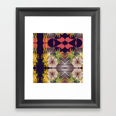 kaleidoscope 01 Framed Art Print