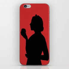 Snow White Silhouette  iPhone & iPod Skin
