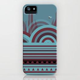 Geometric Daze iPhone Case
