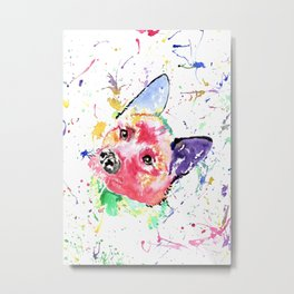 Akita 2 by Little Things to Cherish Metal Print