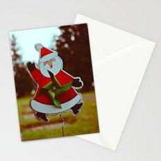 Santa greetings Stationery Cards