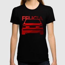 Skoda Felicia - classic red - T-shirt