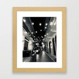 Casco Viejo Lights- Panama Framed Art Print