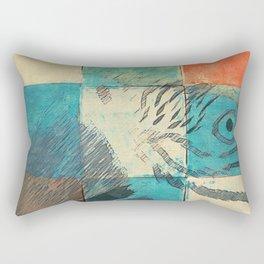 Jolis Parrots 3 Rectangular Pillow
