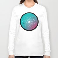 aviation Long Sleeve T-shirts featuring Atomic Formation by nicebleed