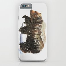 Arctic Grizzly Bear iPhone 6 Slim Case