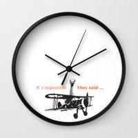 ostrich Wall Clocks featuring OSTRICH by VINSPIRO