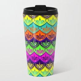 Elena Pattern Metal Travel Mug