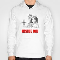 jfk Hoodies featuring JFK Assassination: Inside Job! by InvaderDig