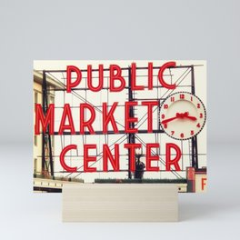 Market Day Mini Art Print