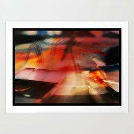 Water Palette Art Print