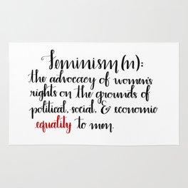 Feminism Definition Rug