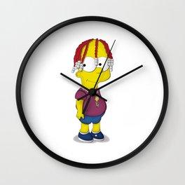 Lil Yatchy Bart Wall Clock