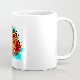 Red Peony  Coffee Mug