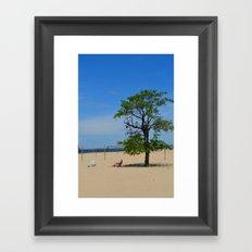 Perfect Post Card I Framed Art Print