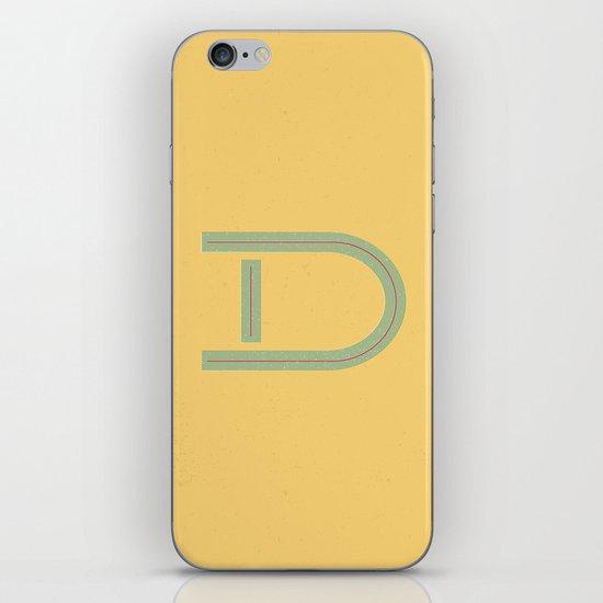 D 001 iPhone & iPod Skin