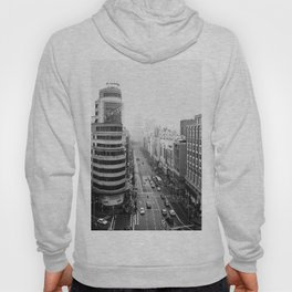 Gran Via in Madrid Hoody
