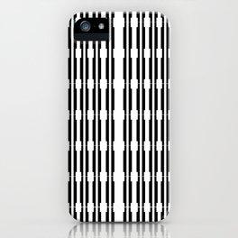 Black and White, Urban shadows iPhone Case