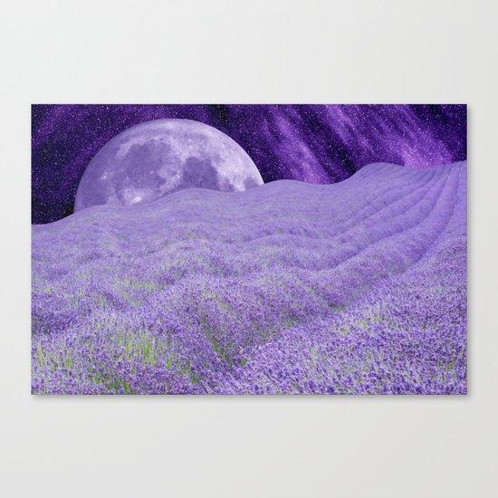 LAVENDER MOON Canvas Print