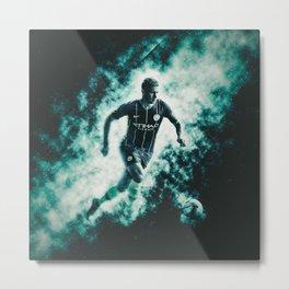 Kevin De Bruyne Manchester City Metal Print