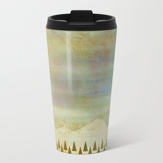 Breathe Metal Travel Mug