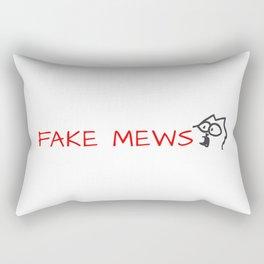 fake mews Rectangular Pillow