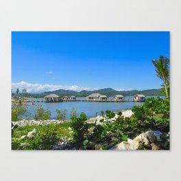 Amber Cove Paradise Canvas Print