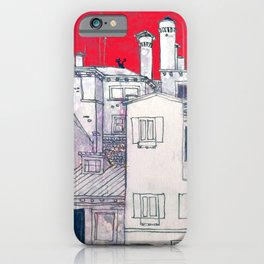 architectural sketch iPhone Case