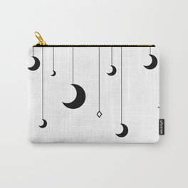 Kennah's Dream in Black and White Carry-All Pouch