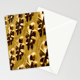 Parisian Gold Fluer De Lis Embossed Design Stationery Cards