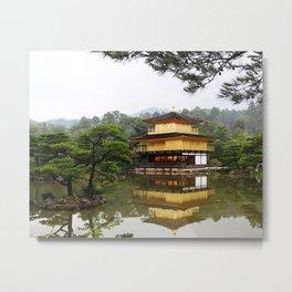 GOLDEN TEMPLE, JAPAN Metal Print