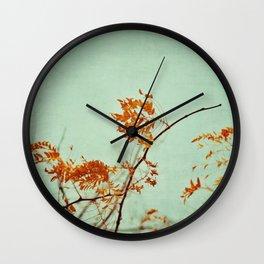 autumn happenings Wall Clock