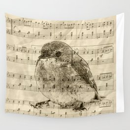 Songs of Birds Wall Tapestry