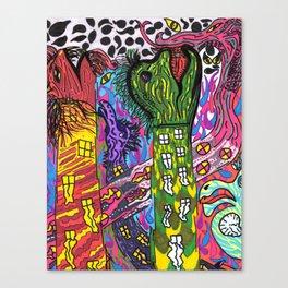 Torri di Doom Canvas Print