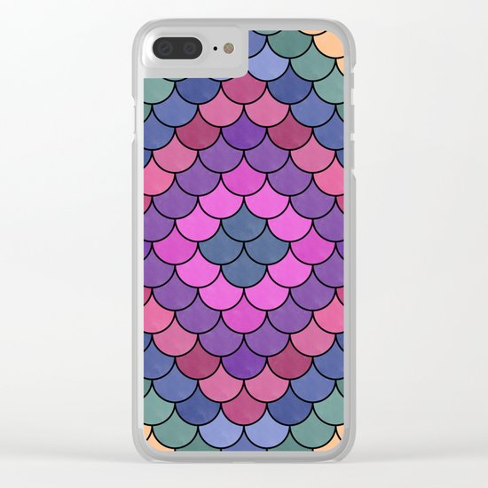 Lovely Pattern CII Clear iPhone Case